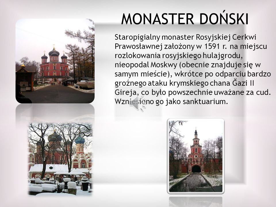 MONASTER DOŃSKI