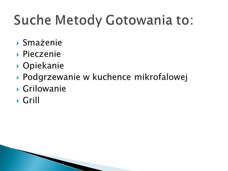 Suche Metody Gotowania to: