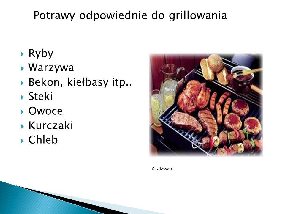 Potrawy odpowiednie do grillowania
