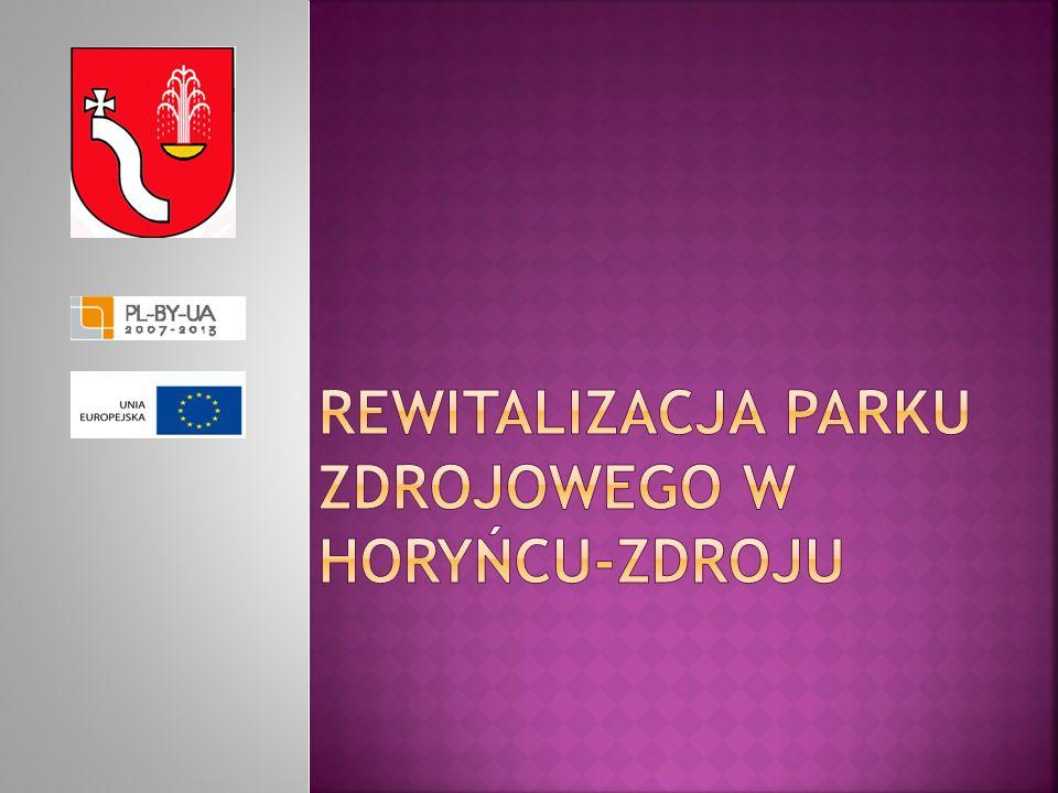 Rewitalizacja Parku Zdrojowego w Horyńcu-Zdroju
