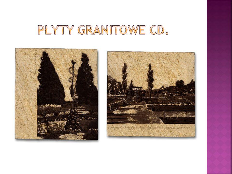 Płyty granitowe cd.
