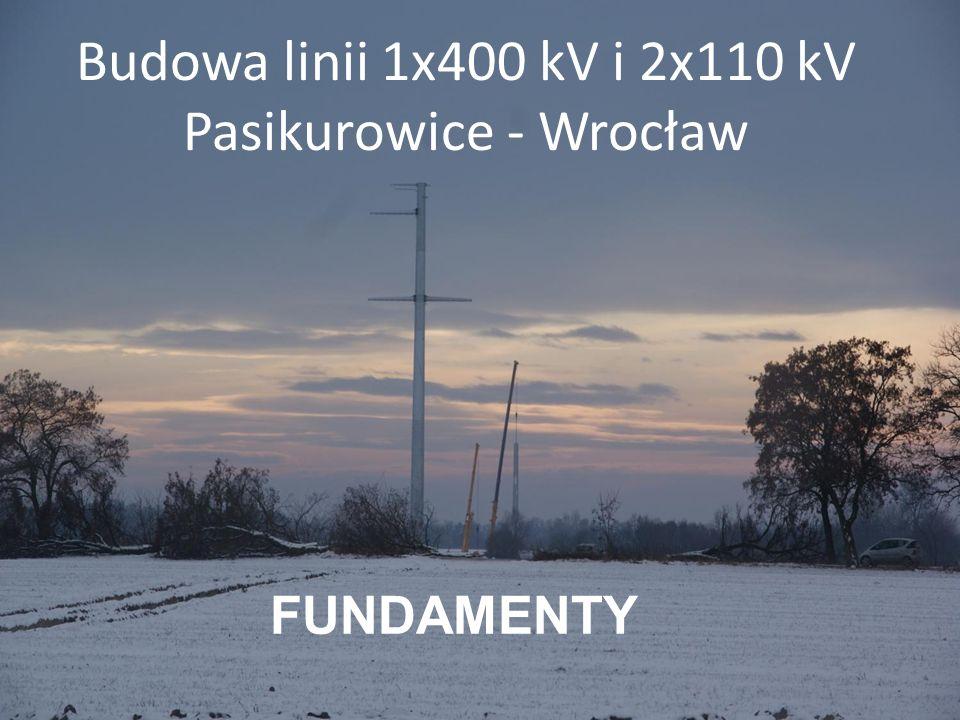 Budowa linii 1x400 kV i 2x110 kV Pasikurowice - Wrocław