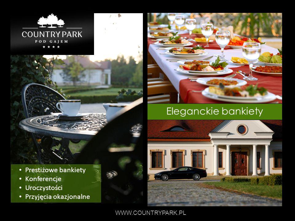 Eleganckie bankiety Prestiżowe bankiety Konferencje Uroczystości