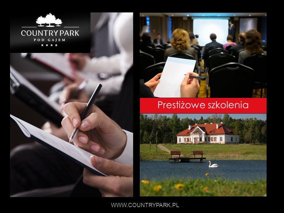 Prestiżowe szkolenia WWW.COUNTRYPARK.PL