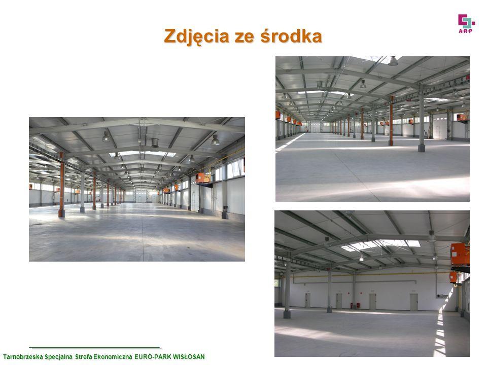 Zdjęcia ze środka Tarnobrzeska Specjalna Strefa Ekonomiczna EURO-PARK WISŁOSAN