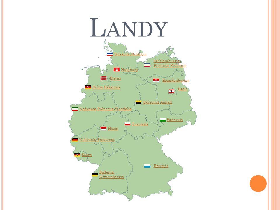 Landy Szlezwik-Holsztyn Meklemburgia-Pomorze Przednie Hamburg Brema