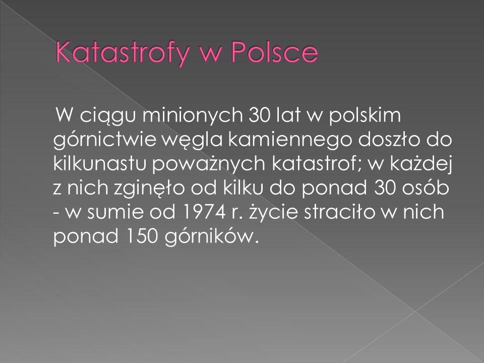 Katastrofy w Polsce