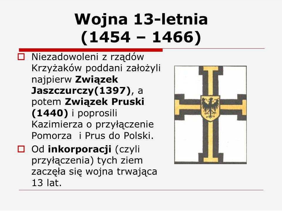 Wojna 13-letnia (1454 – 1466)