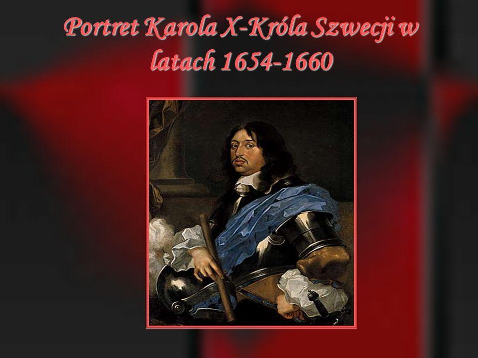 Portret Karola X-Króla Szwecji w latach 1654-1660