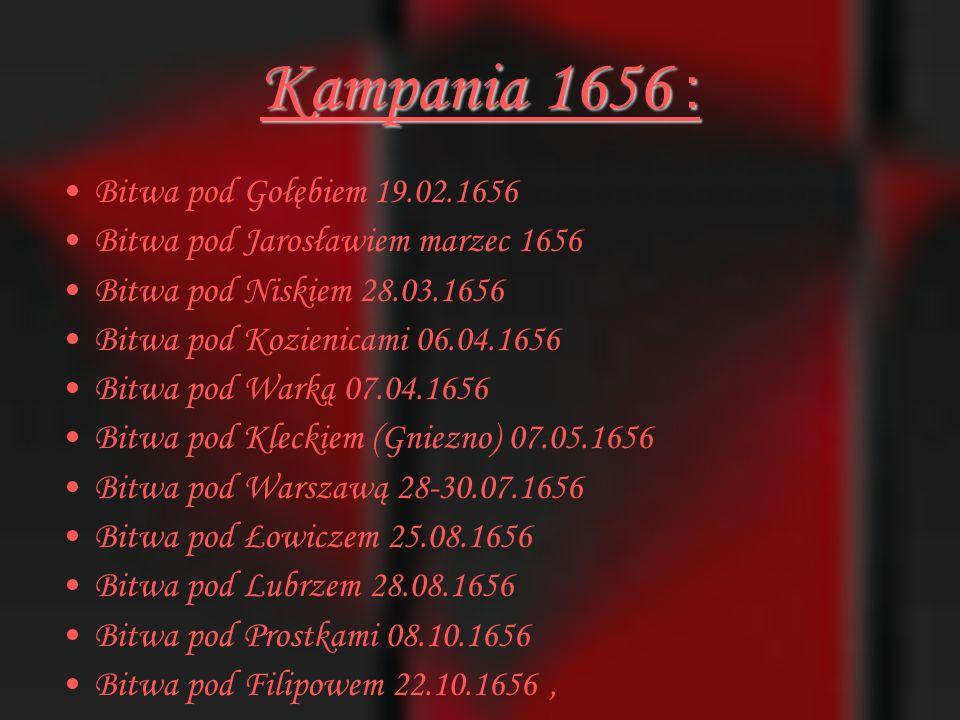 Kampania 1656 : Bitwa pod Gołębiem 19.02.1656