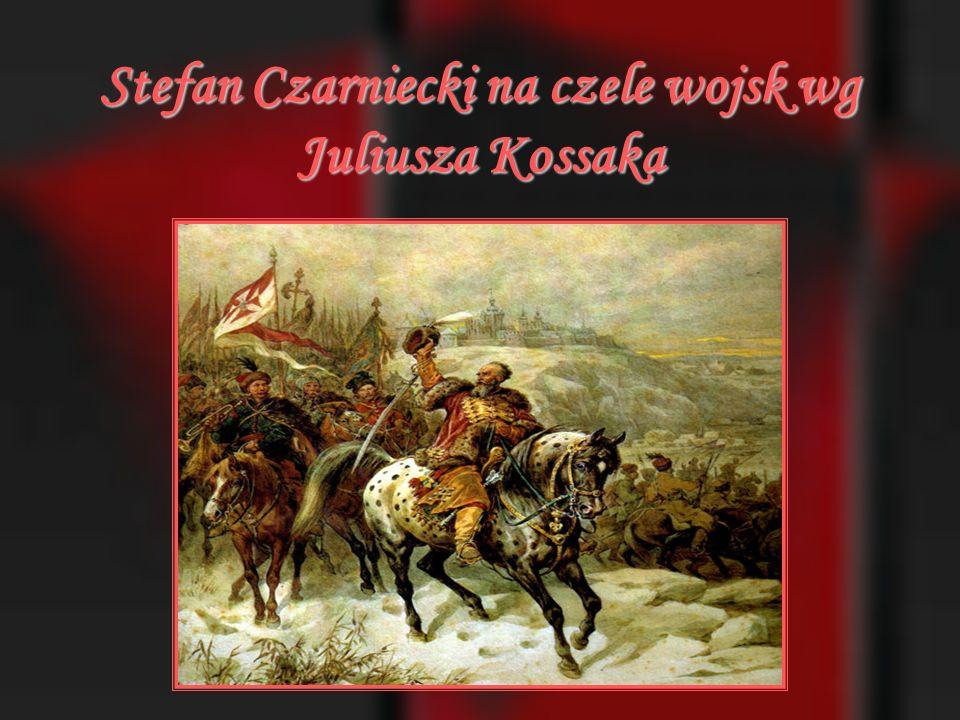Stefan Czarniecki na czele wojsk wg Juliusza Kossaka