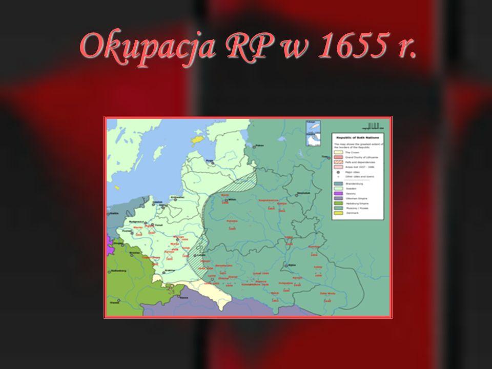 Okupacja RP w 1655 r.