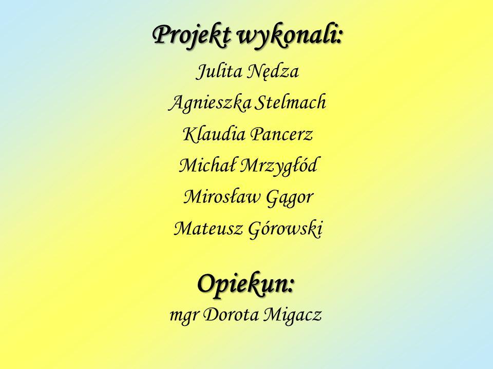 Opiekun: mgr Dorota Migacz