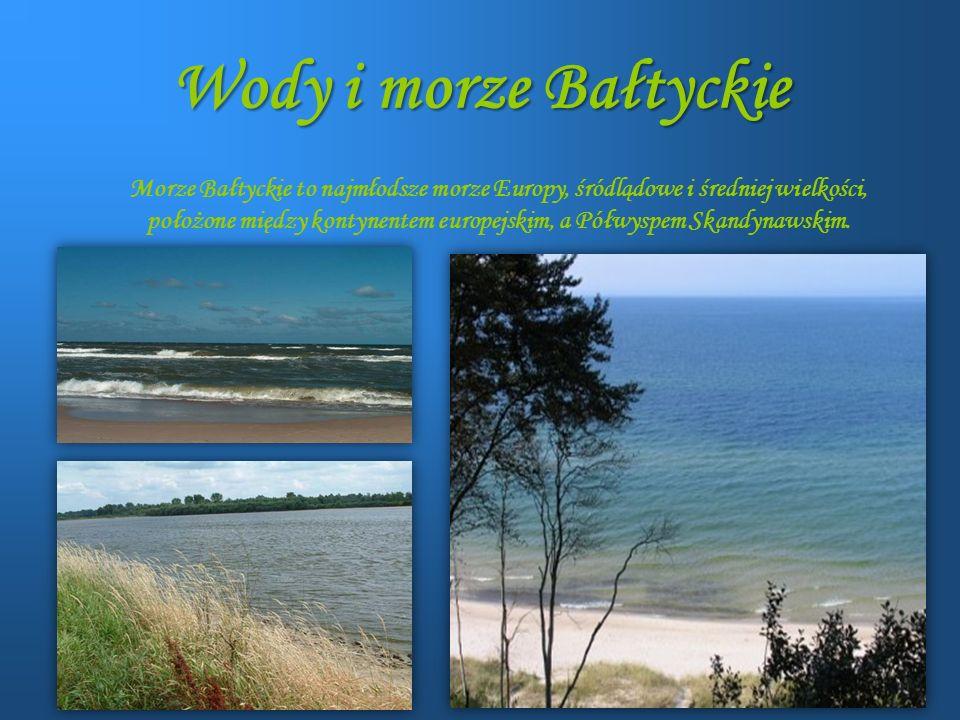Wody i morze Bałtyckie