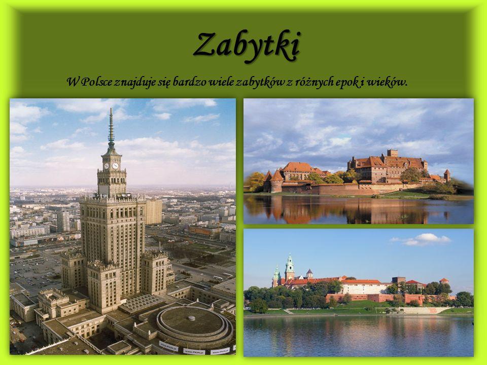 W Polsce znajduje się bardzo wiele zabytków z różnych epok i wieków.