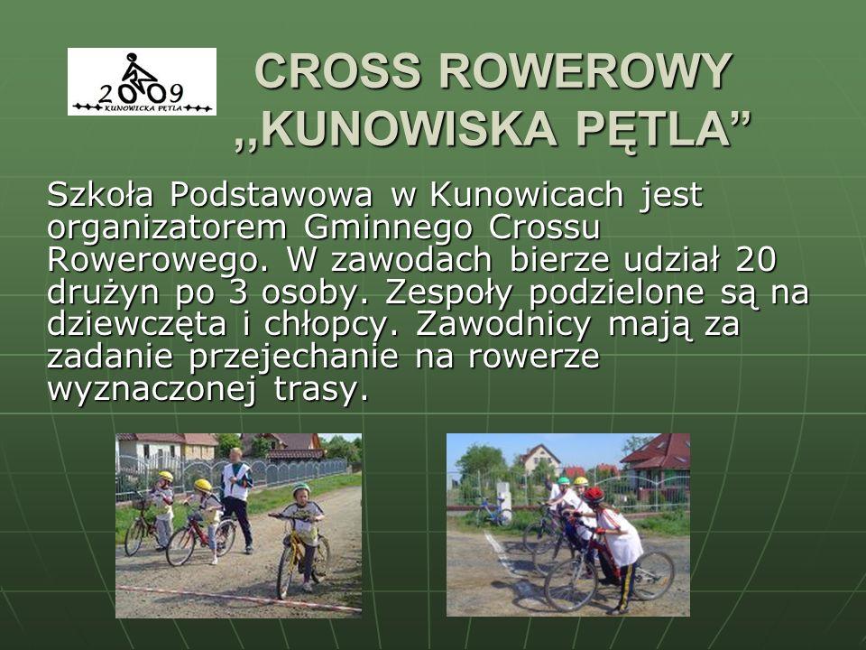 CROSS ROWEROWY ,,KUNOWISKA PĘTLA