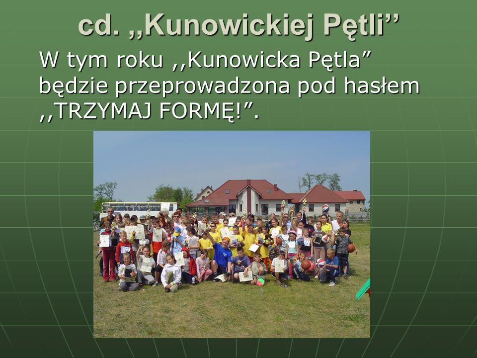 cd. ,,Kunowickiej Pętli''