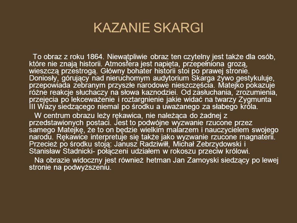KAZANIE SKARGI