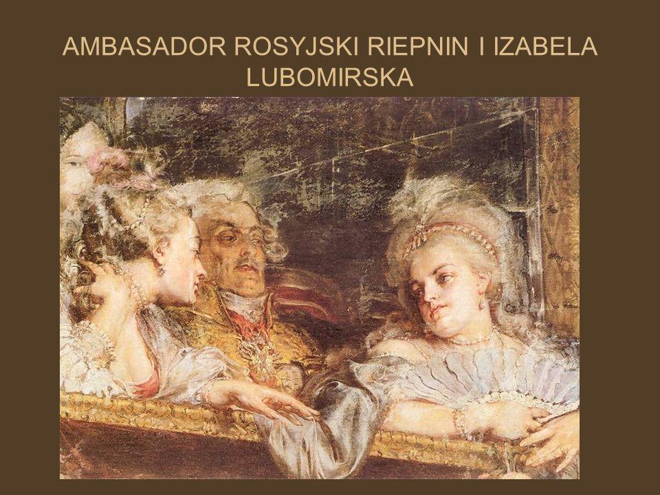 AMBASADOR ROSYJSKI RIEPNIN I IZABELA LUBOMIRSKA