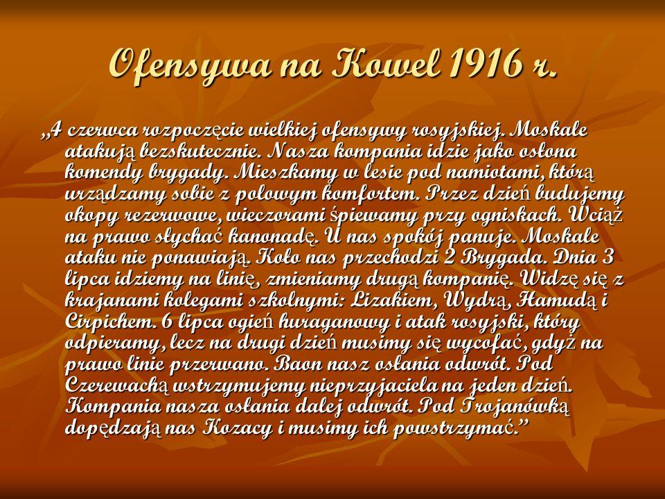 Ofensywa na Kowel 1916 r.