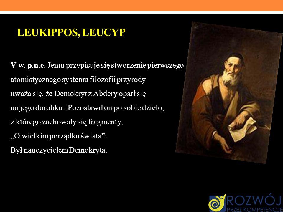 LEUKIPPOS, LEUCYP