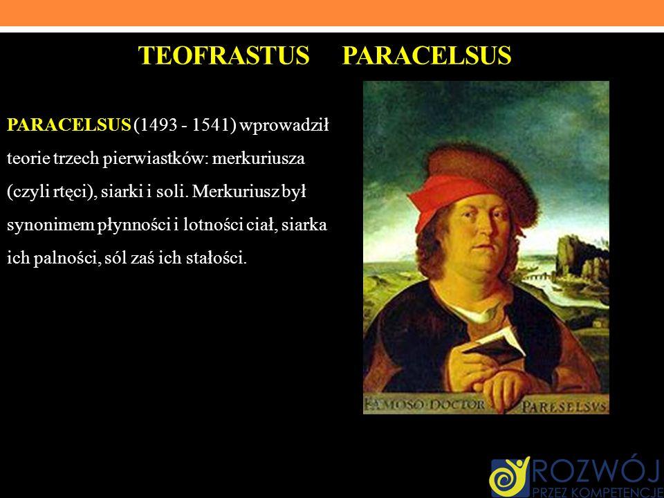 TEOFRASTUS PARACELSUS