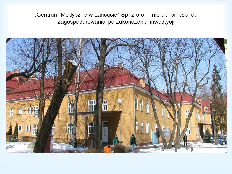 """""""Centrum Medyczne w Łańcucie Sp. z o. o"""