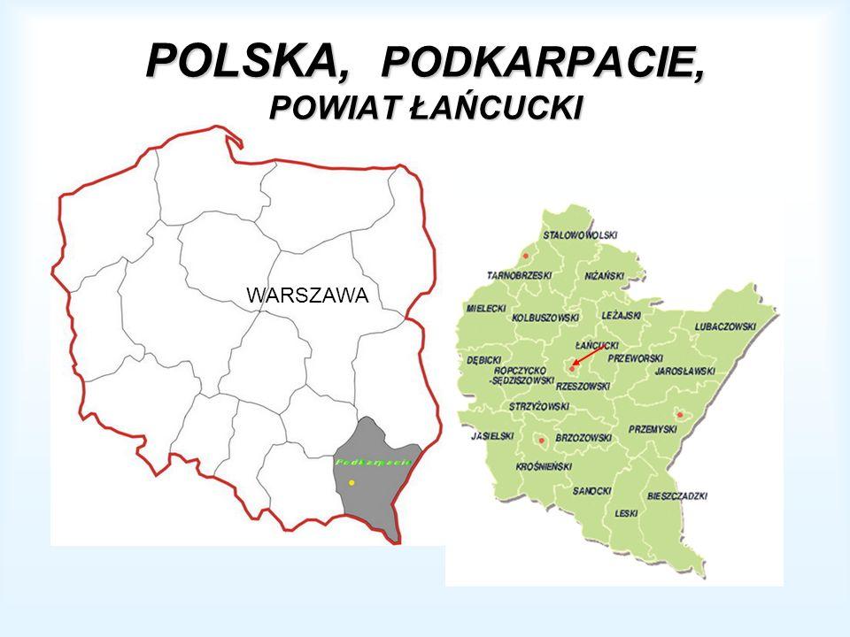 POLSKA, PODKARPACIE, POWIAT ŁAŃCUCKI