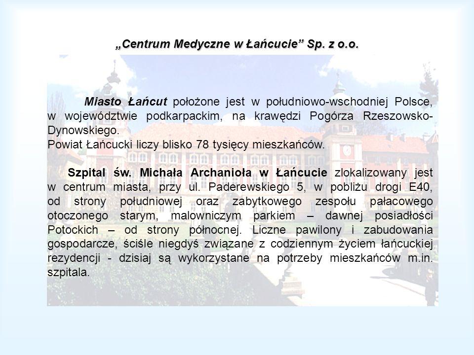 """""""Centrum Medyczne w Łańcucie Sp. z o.o."""