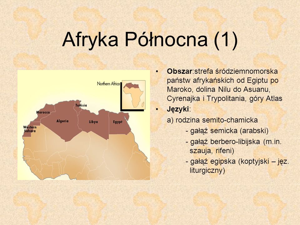 Afryka Północna (1)