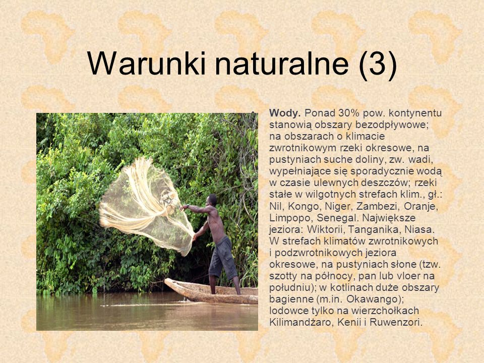 Warunki naturalne (3)
