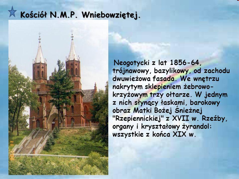 Kościół N.M.P. Wniebowziętej.