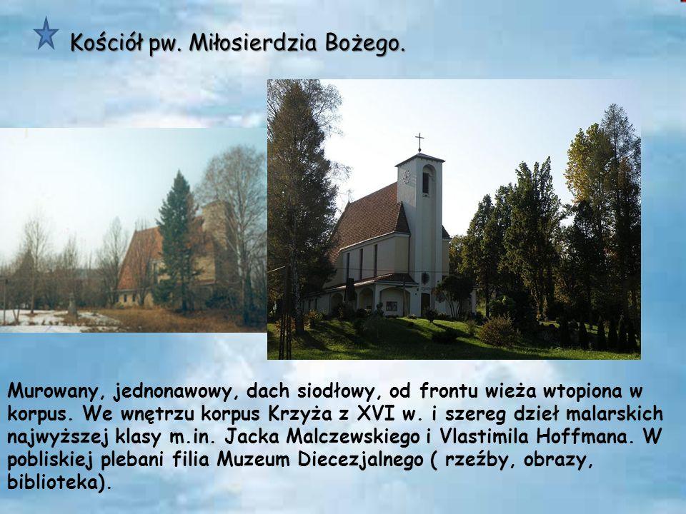Kościół pw. Miłosierdzia Bożego.
