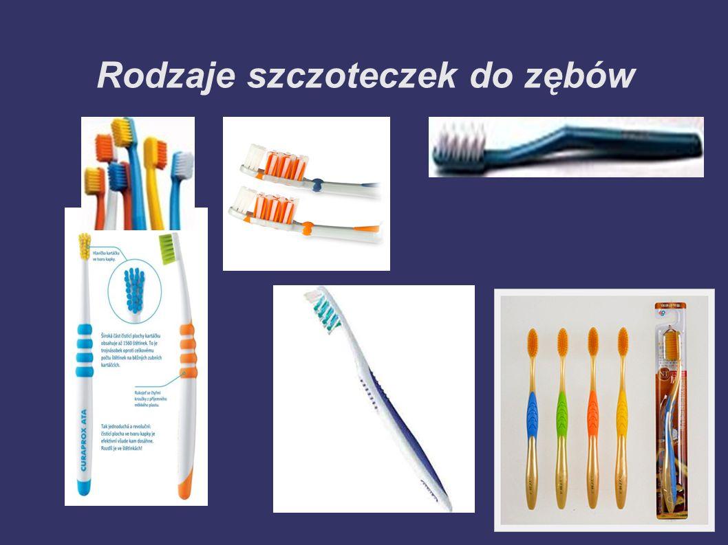 Rodzaje szczoteczek do zębów