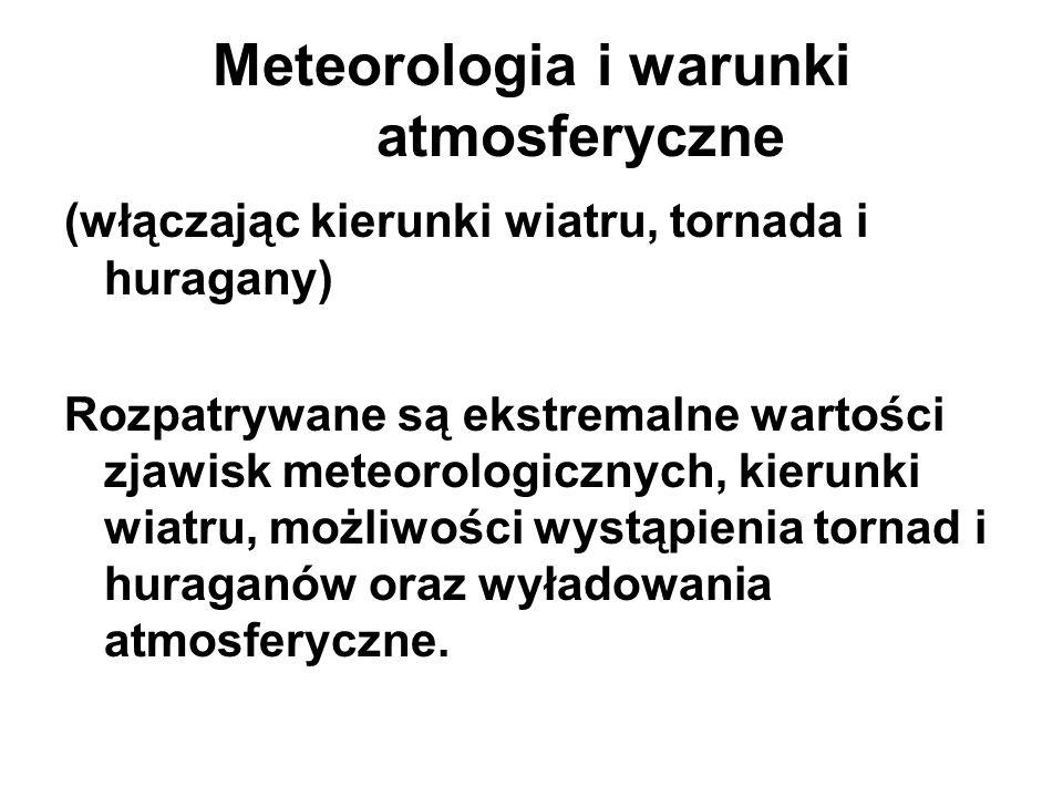 Meteorologia i warunki atmosferyczne