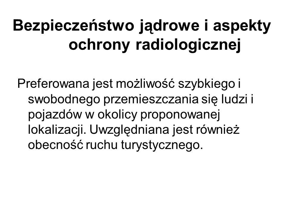 Bezpieczeństwo jądrowe i aspekty ochrony radiologicznej