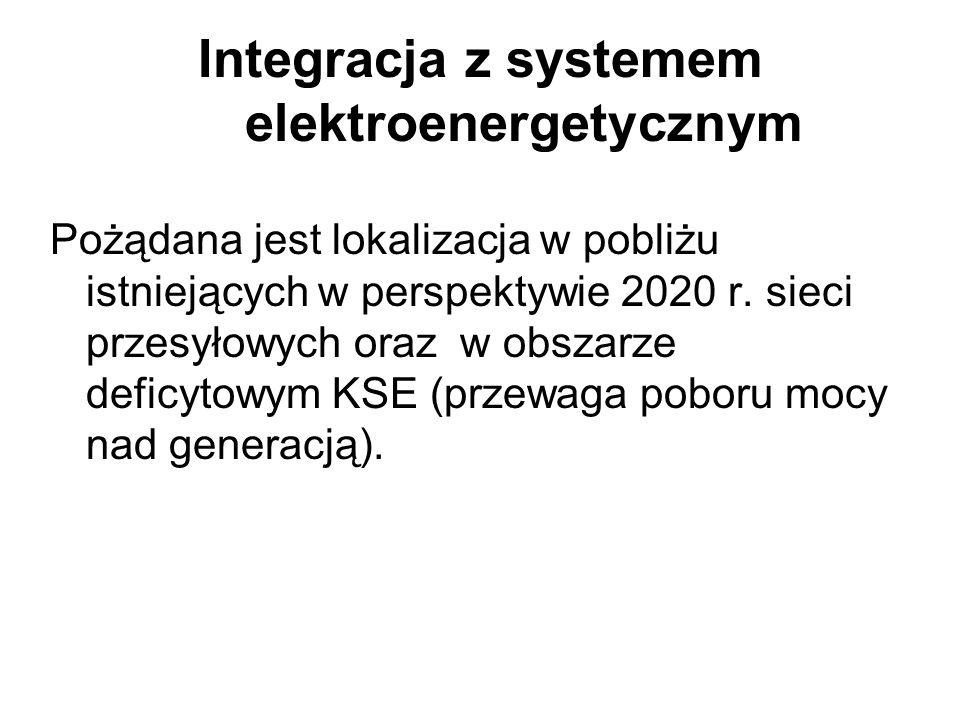 Integracja z systemem elektroenergetycznym
