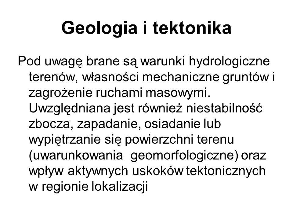 Geologia i tektonika