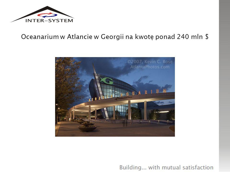 Oceanarium w Atlancie w Georgii na kwotę ponad 240 mln $