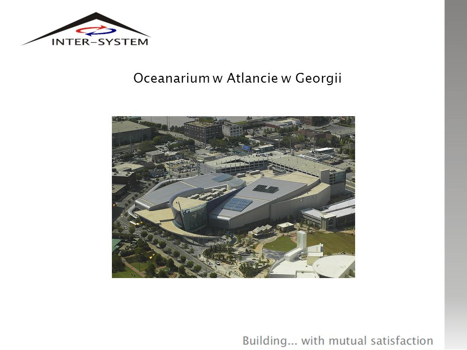 Oceanarium w Atlancie w Georgii