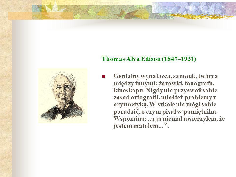 Thomas Alva Edison (1847–1931)