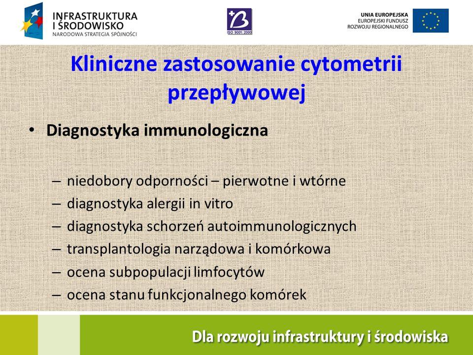 Kliniczne zastosowanie cytometrii przepływowej