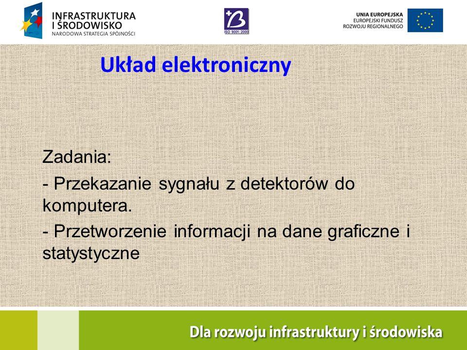Układ elektroniczny Zadania: