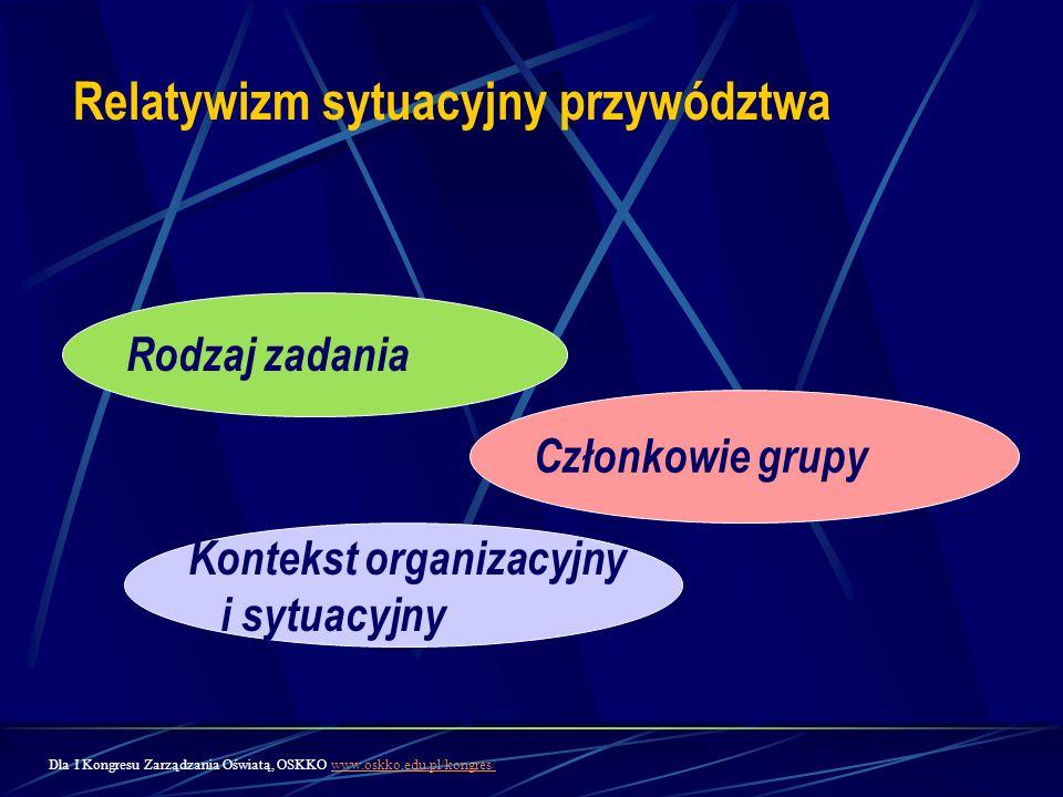 Relatywizm sytuacyjny przywództwa