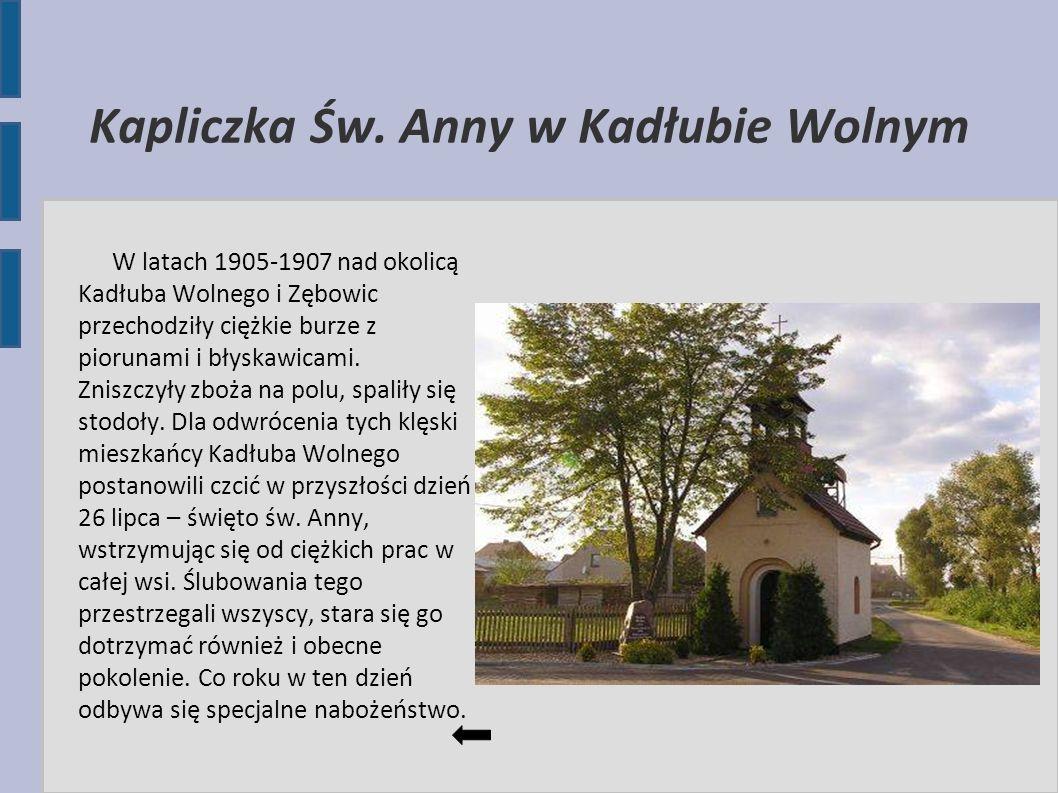 Kapliczka Św. Anny w Kadłubie Wolnym