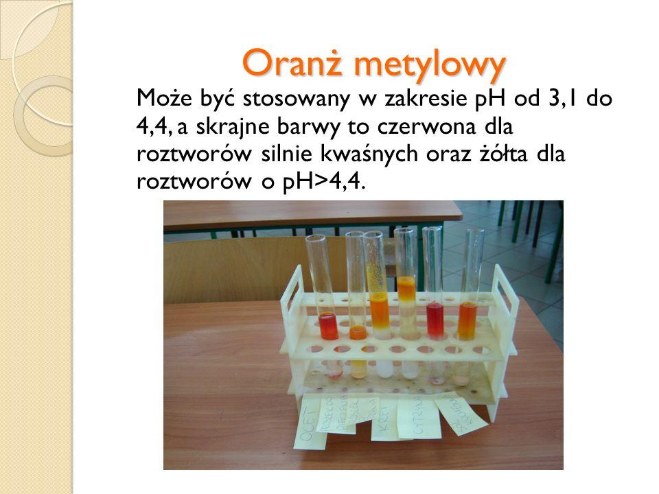 Oranż metylowy