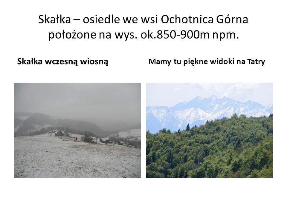 Skałka – osiedle we wsi Ochotnica Górna położone na wys. ok