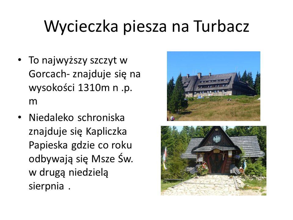 Wycieczka piesza na Turbacz