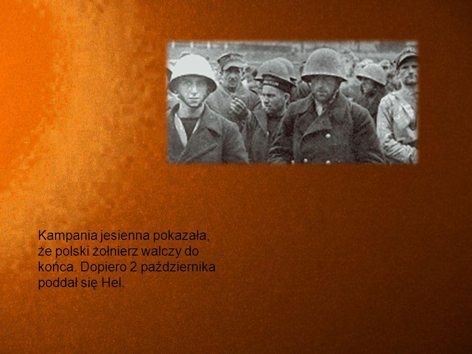 Kampania jesienna pokazała, że polski żołnierz walczy do końca