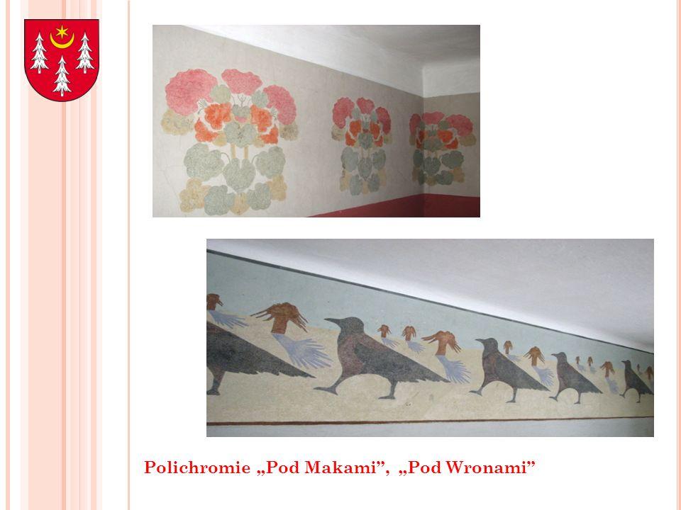 """Polichromie """"Pod Makami , """"Pod Wronami"""